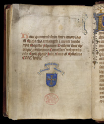 Colophon, In An Account Of The Appearance of St. Michael At Mont-St-Michel